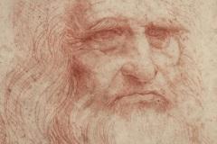 Leonardo autoritratto
